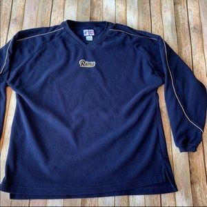 Vintage St. Louis Rams pullover fleece
